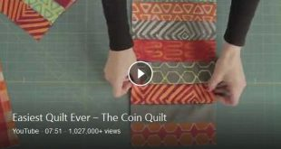 QNNtv.com/quilty: We have the perfect beginner quilt on the show today – the C...