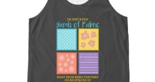 Quilting/Sewing All-Over-Print Tank Top | Zazzle.com