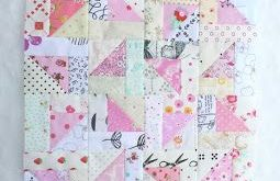 Sew Me Something Good: Scrappy Triangles Quilt Block Tutorial