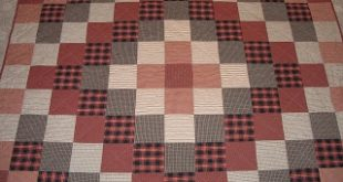 Sew in Peace: Flannel Lap Quilt