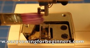 Sewing Machine Maintenance How to Oil and Clean Video Tutorial (Front Loading Bobbin