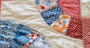 Sewn With Grace: September 2014 vintage quilt