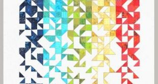 Shattered, Improvisational Modern Quilt Pattern (BAB -14)
