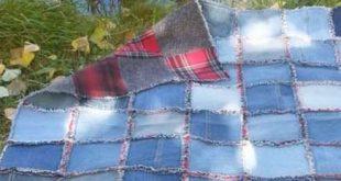 Super Crochet For Beginners Blanket Rag Quilt Ideas