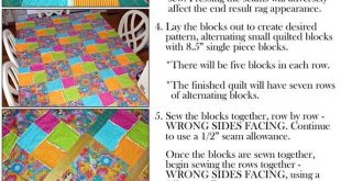 The Perfect Winter Project: Rag Quilts (instructions included)