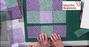 """""""This is a Know Nothing Quilting Beginners MUST WATCH Video! Includes Details On..."""
