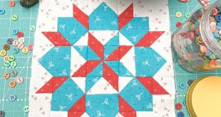 Today I'm going to show you how to make this vintage quilt block that I ...