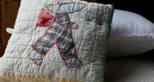 Tooth Fairy #Pillow, repurposed vintage #quilt, Sun #Bonnet Sam, Overall Bill, ...