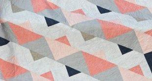 Triangle Twist Quilt Pattern