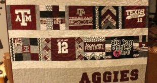 Turn your old favourite shirts into a T-shirt quilt! | Craft projects for every ...