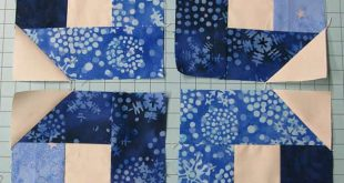 Winter Wonderland Table Topper Tutorial