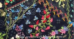 crazy quilt embroidery patterns #Crazyquilting