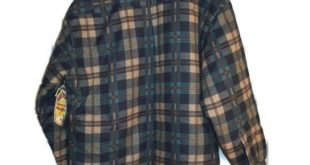 vintage Sierra Pacific quilted flannel jacket NWT vintage Sierra Pacific quilted...